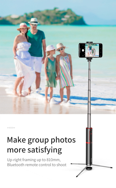 new baseus selfie stick