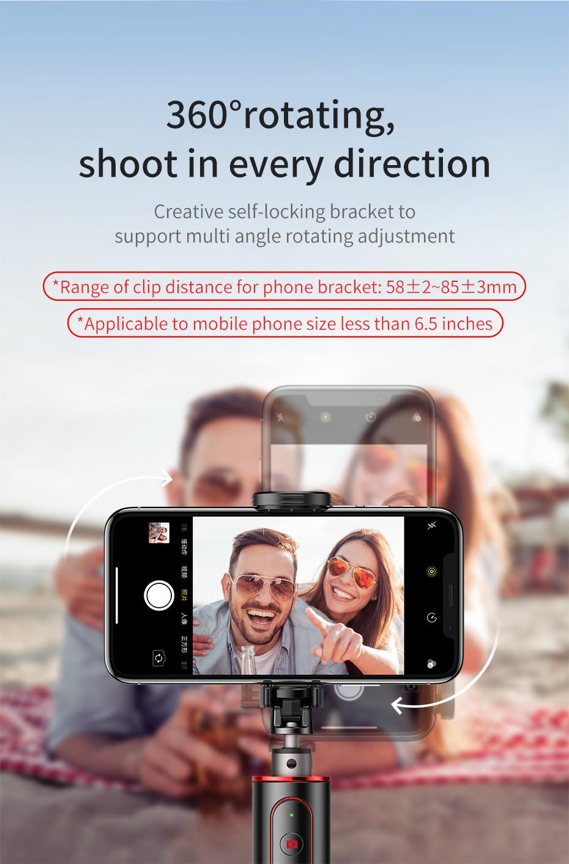 buy baseus intelligent selfie stick