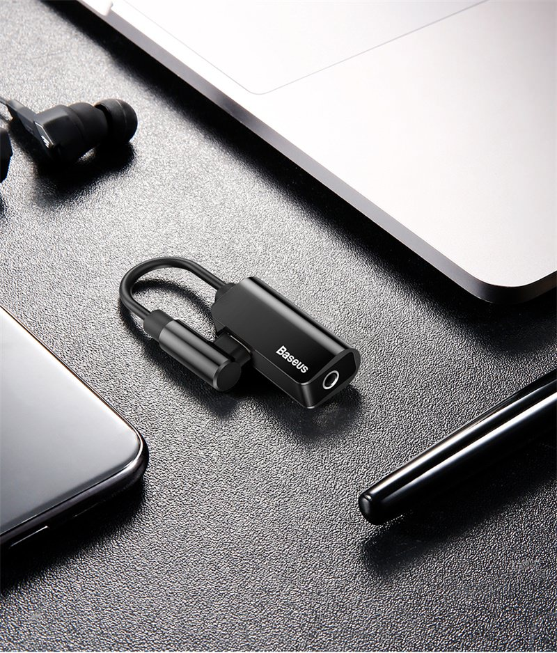 buy baseus audio cable adapter