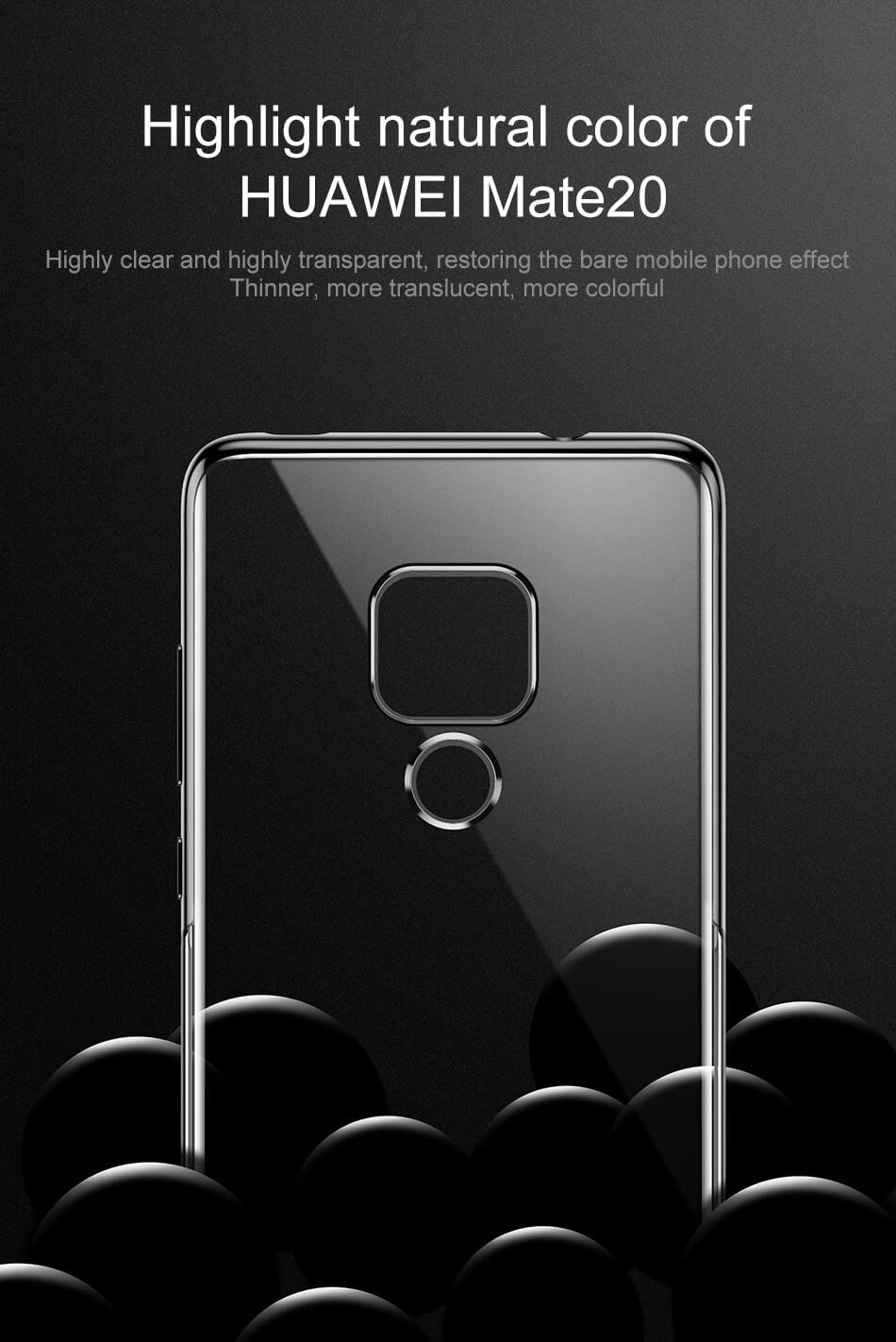 baseus mate 20 back case