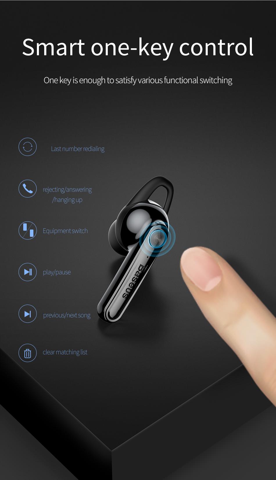 baseus mini bluetooth earphone online