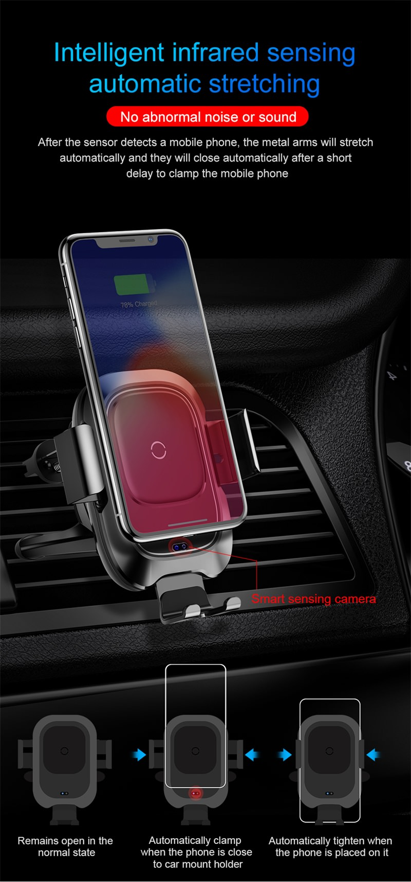 buy baseus car wireless charger