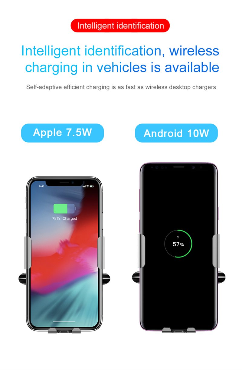 best baseus car wireless charger
