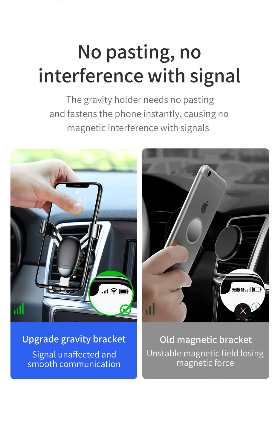 new baseus car phone holder stands