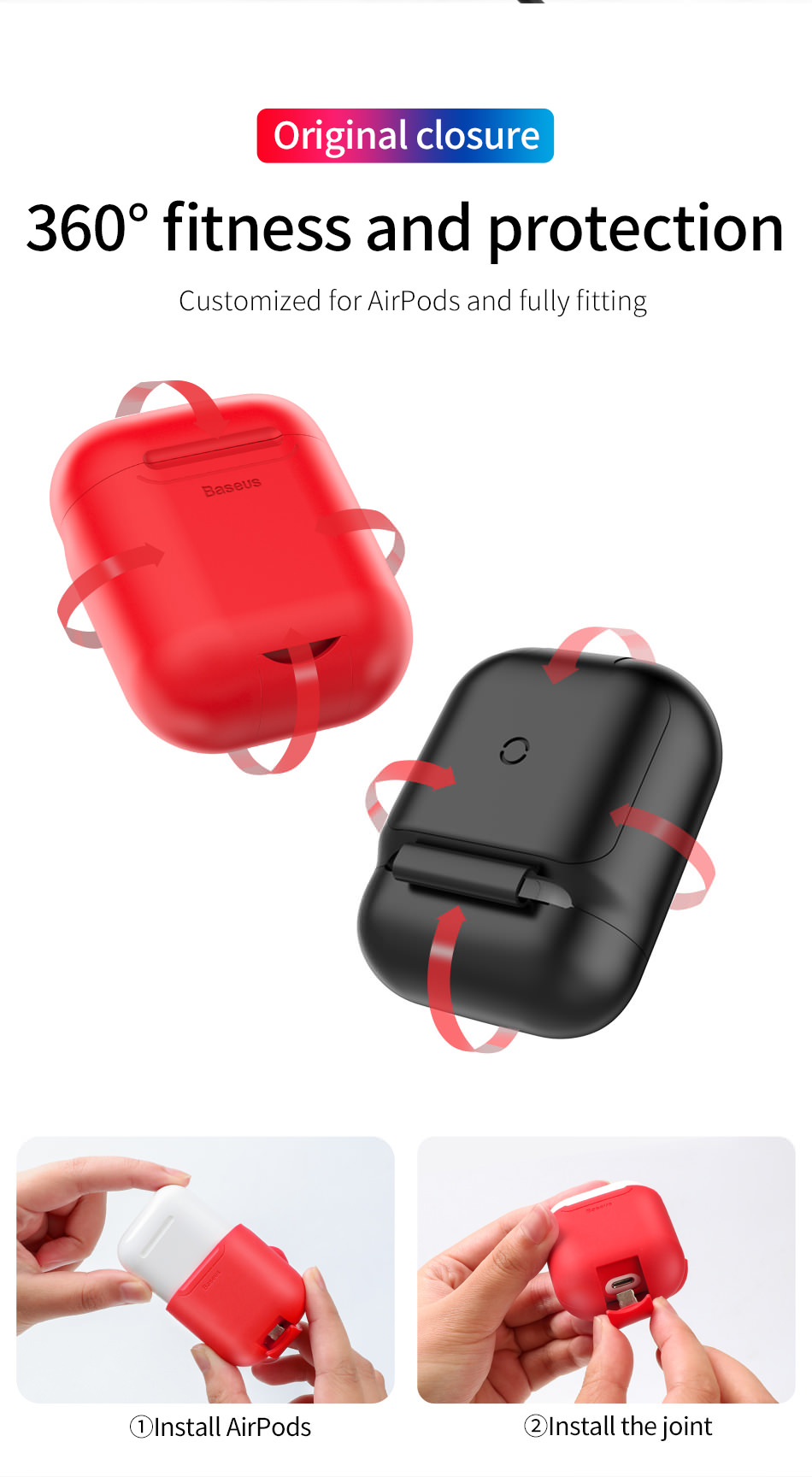 baseus charging case airpods
