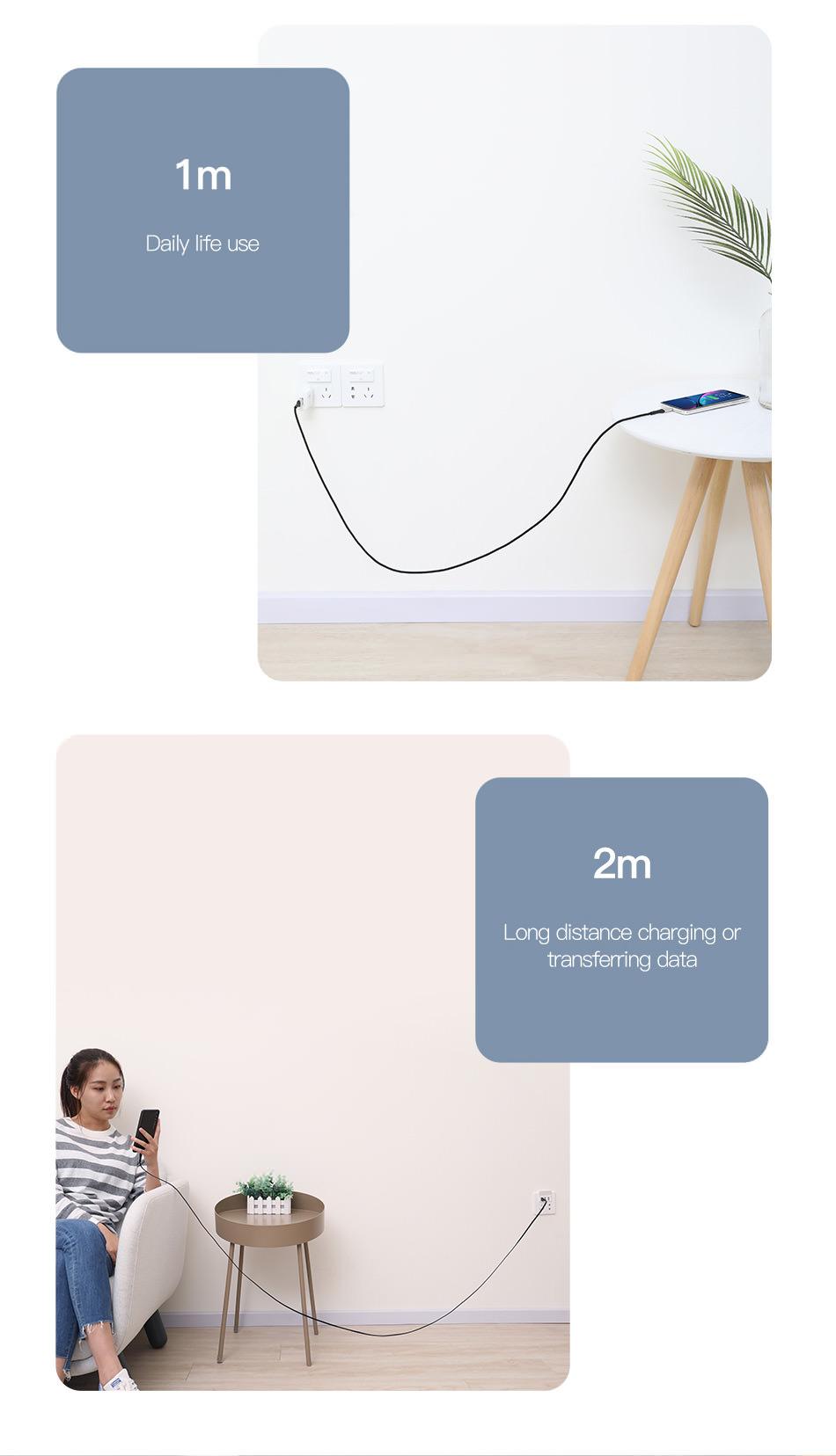 baseus zn-alloy design usb cable price
