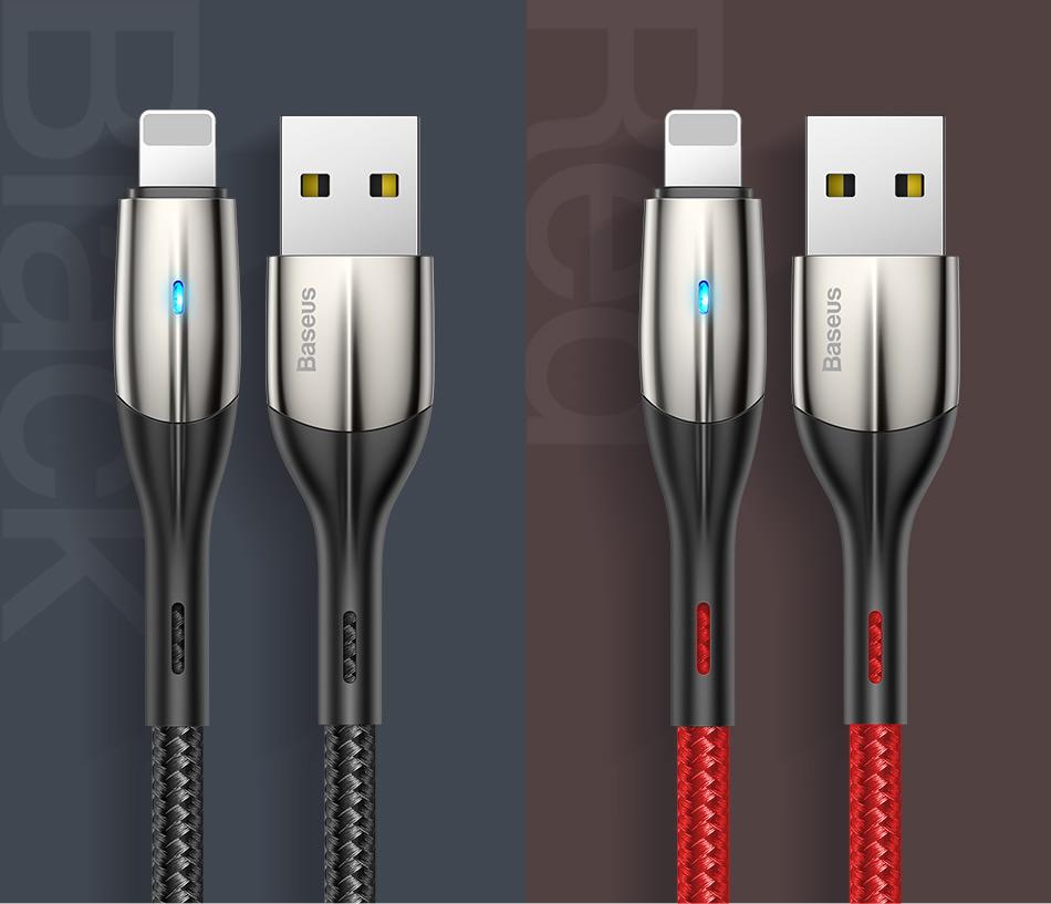 new baseus zn-alloy design cable