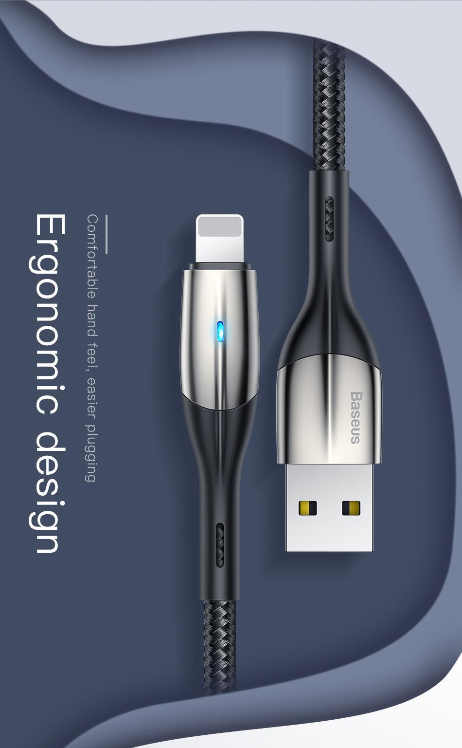 baseus zn-alloy design cable