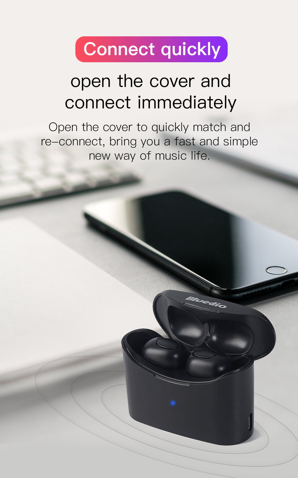 bluedio mini bluetooth earphones
