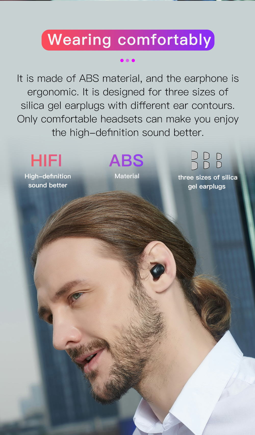 new bluedio mini wireless bluetooth earphones