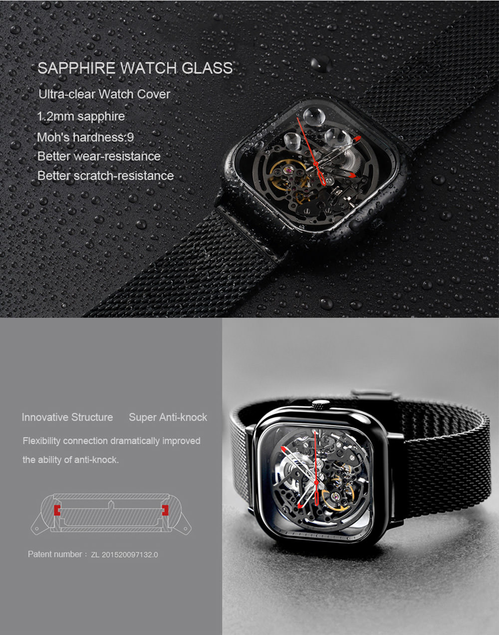 ciga design men watch