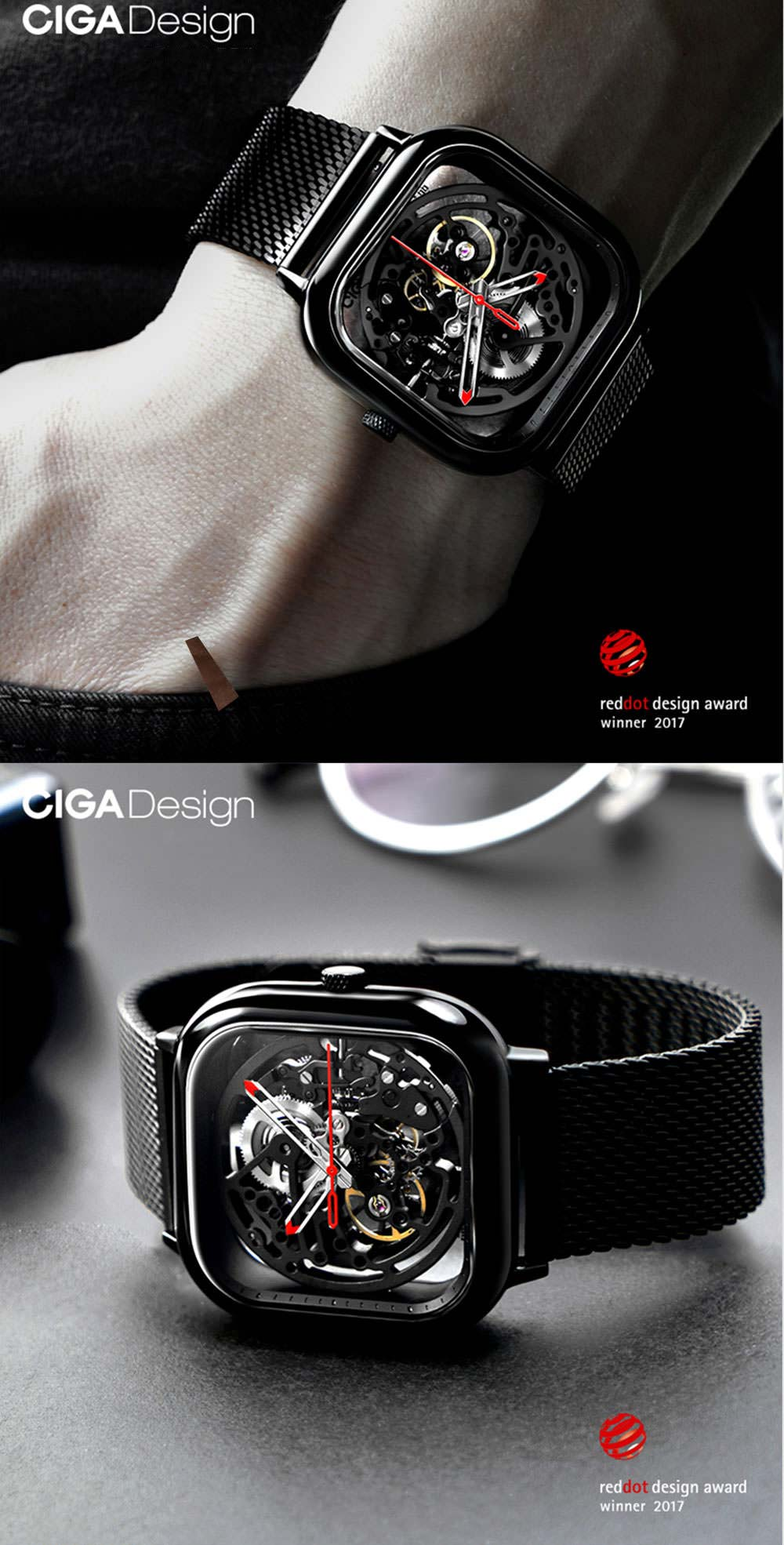 ciga design mechanical watch sale