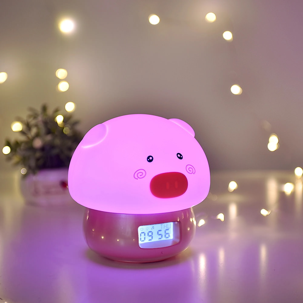 cute animal alarm clock