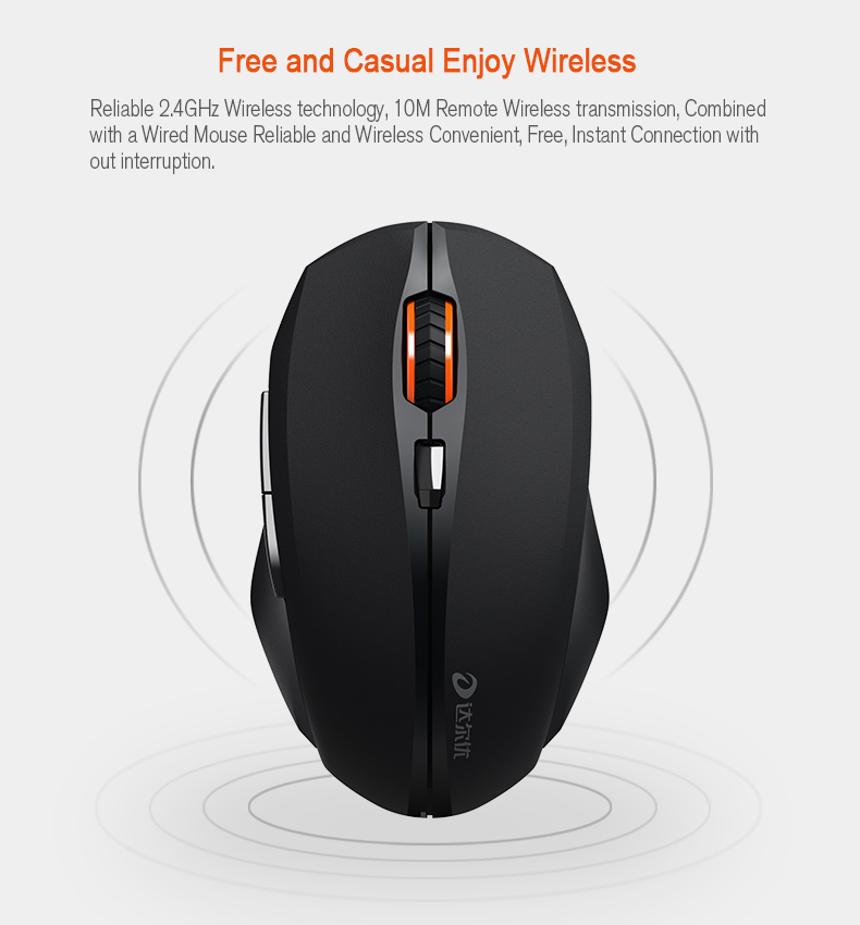 dareu lm116g wireless mouse
