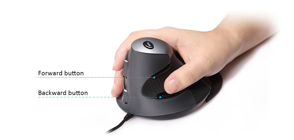 delux m618lu vertical mouse