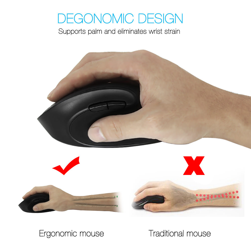 delux m618se wireless mouse