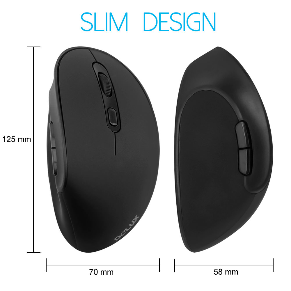delux m618se vertical mouse price