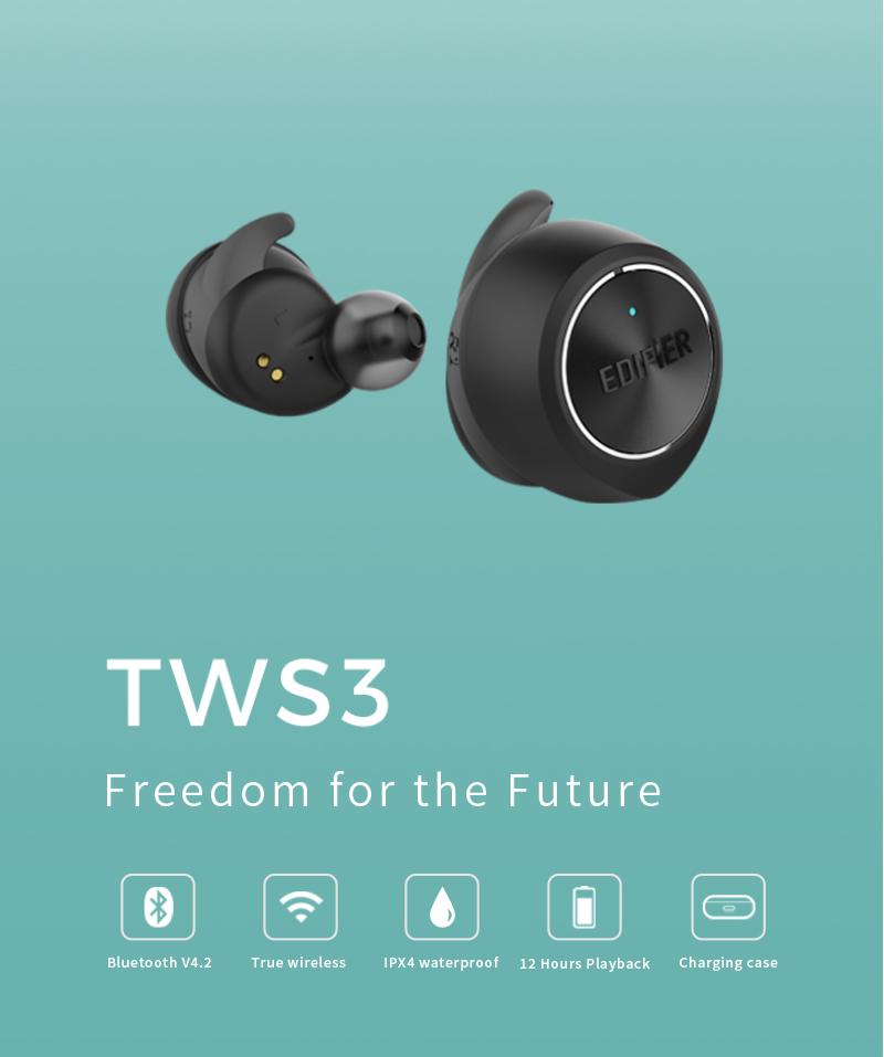 edifier tws3 wireless bluetooth earphone