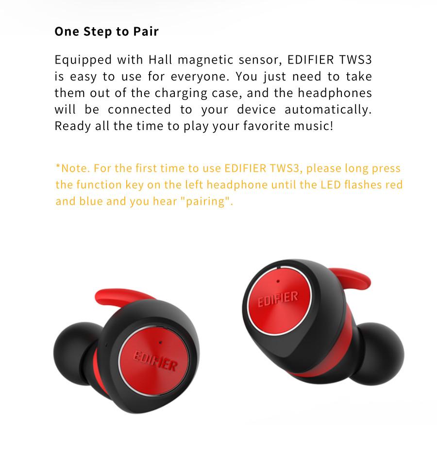 edifier tws3 wireless earbuds