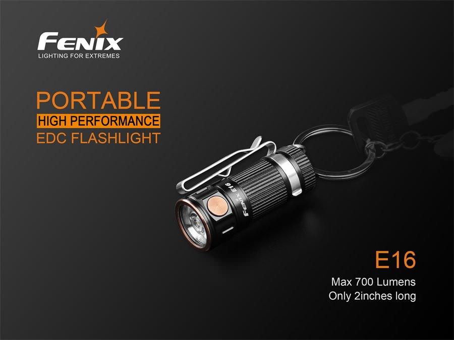 fenix e16 flashlight