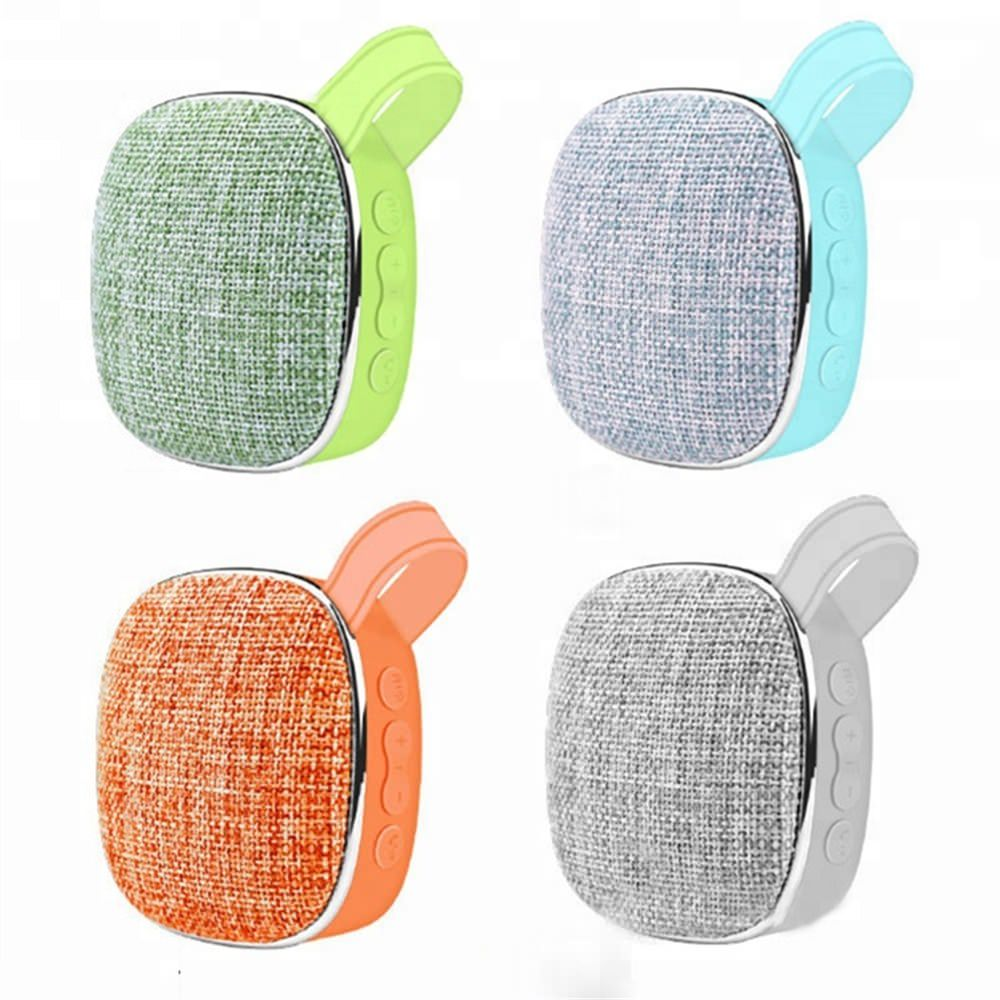 fabric mini wireless speaker