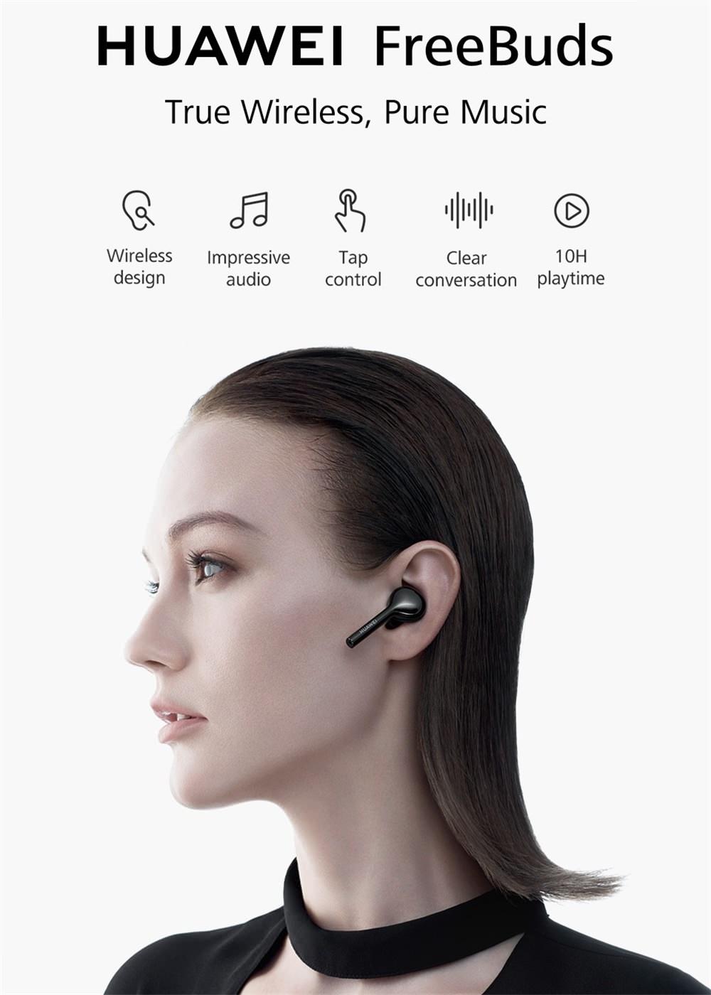 huawei freebuds tws bluetooth earphone