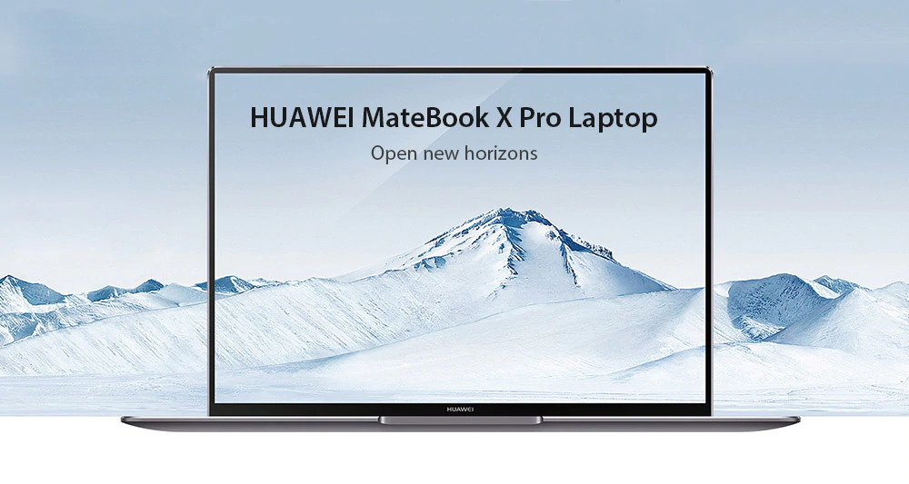 huawei matebook x pro laptop 8gb/256gb