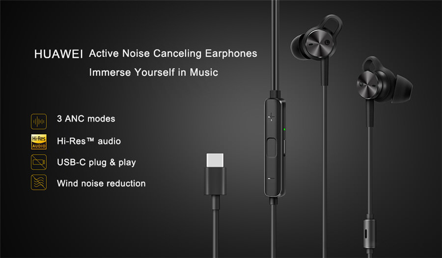 huawei anc 3 earphone