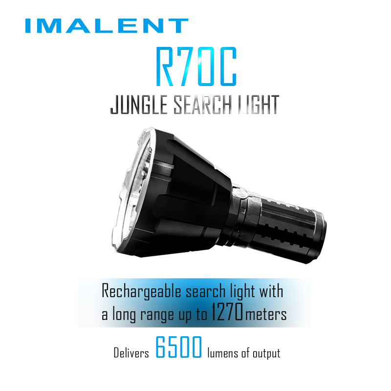 imalent r70c led flashlight