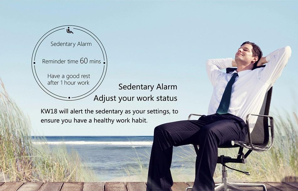 kingwear kw18 smartwatch online sale