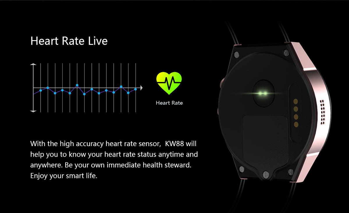 buy kingwear kw88 smartwatch