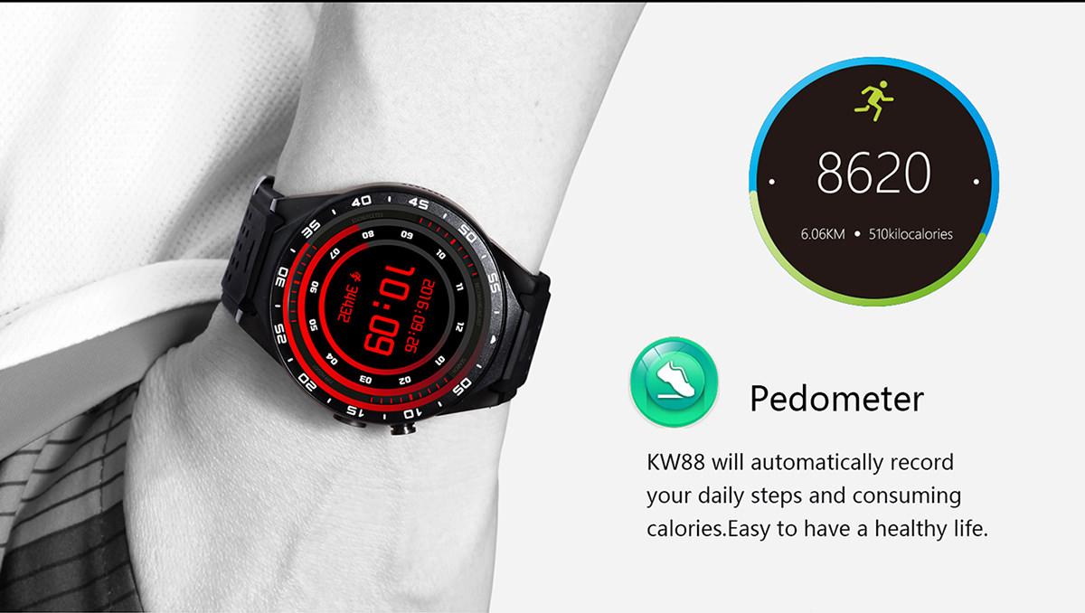 cheap kingwear kw88 smartwatch