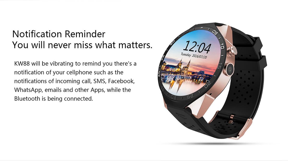 best kingwear kw88 smartwatch