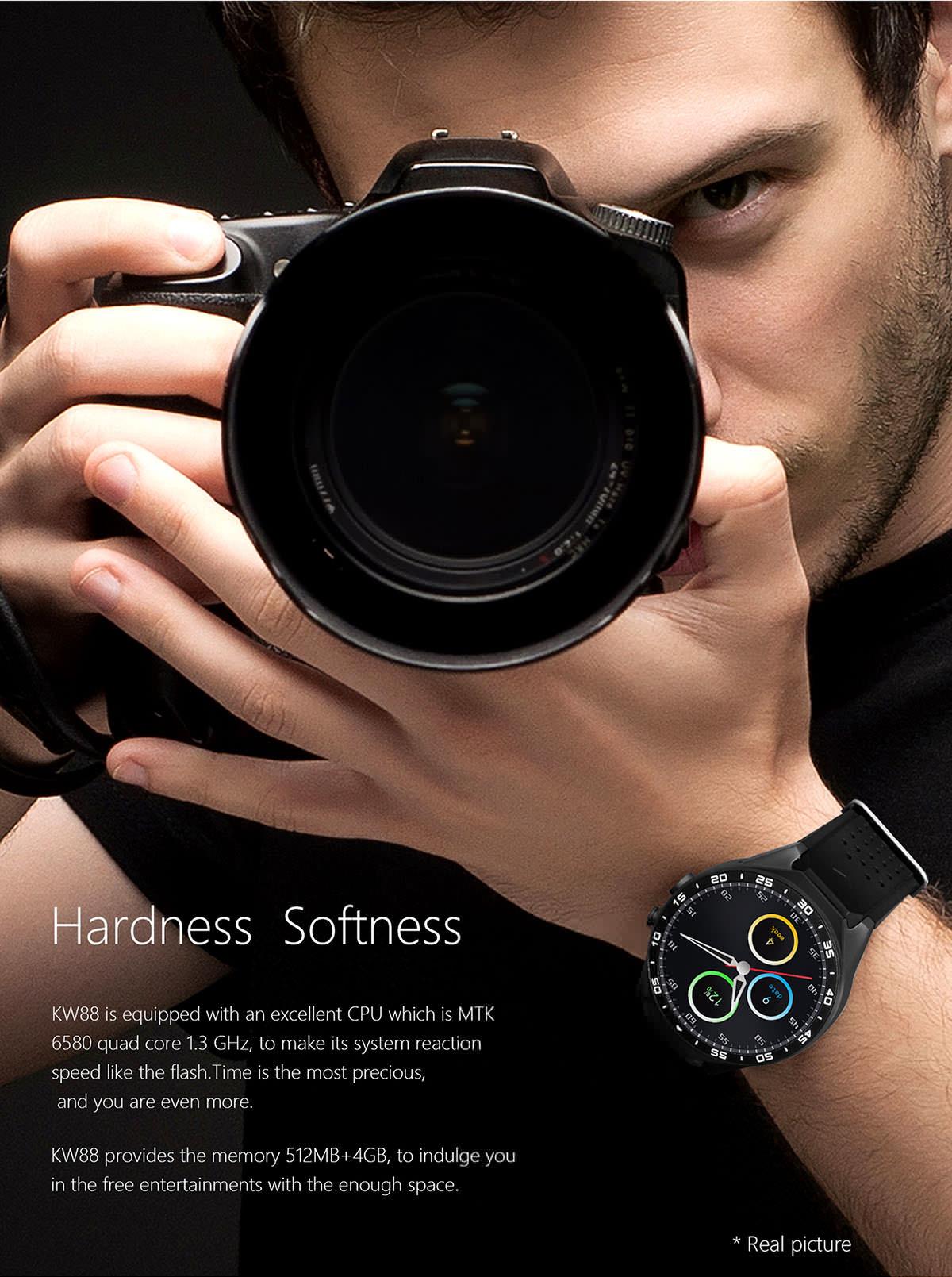 kingwear kw88 smartwatch phone