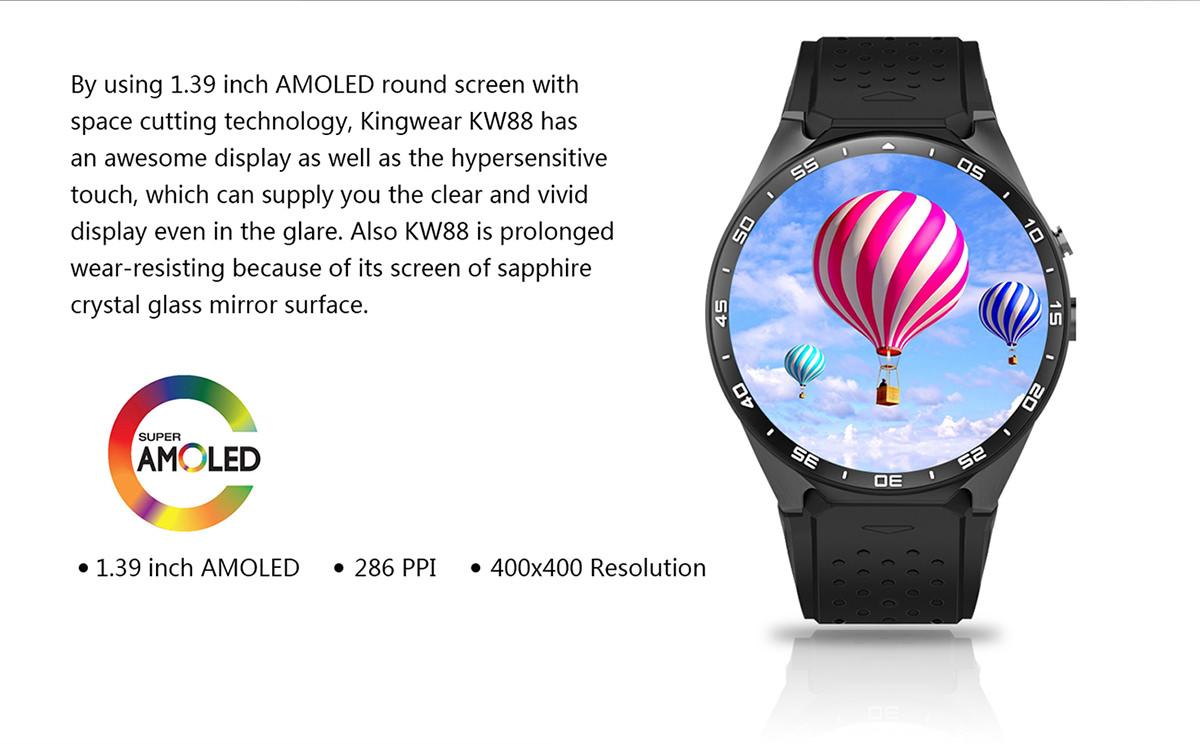 kingwear kw88 smartwatch
