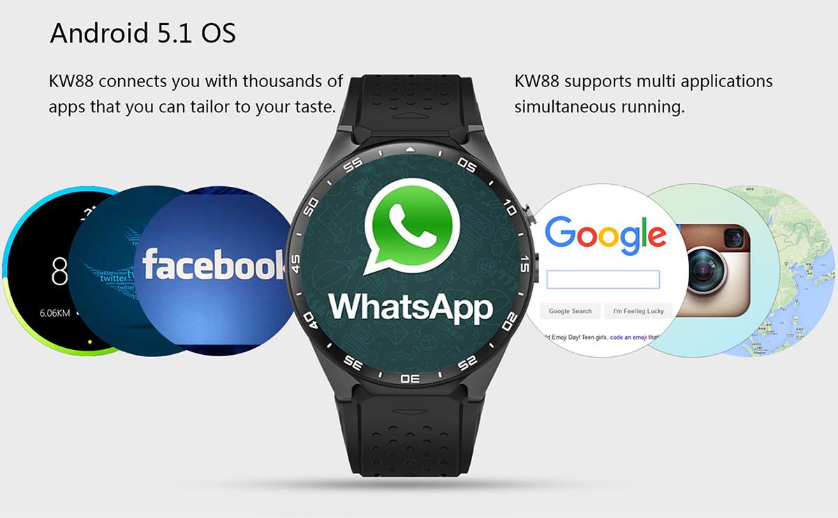buy kw88 smartwatch