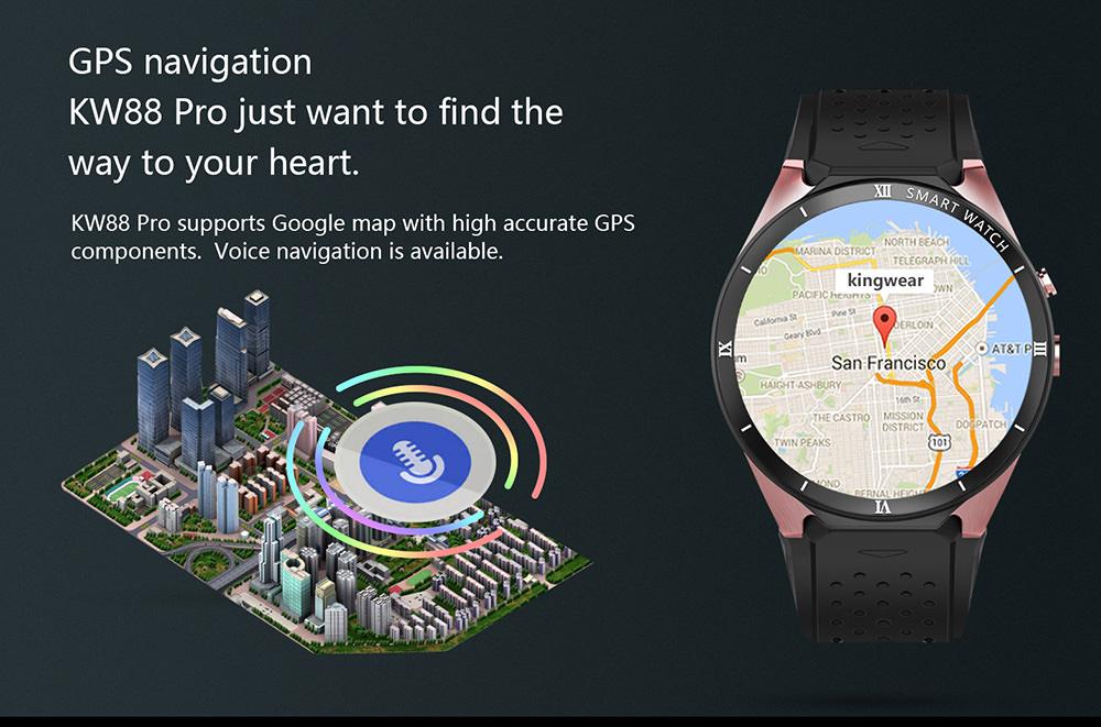 buy kingwear kw88 pro smartwatch
