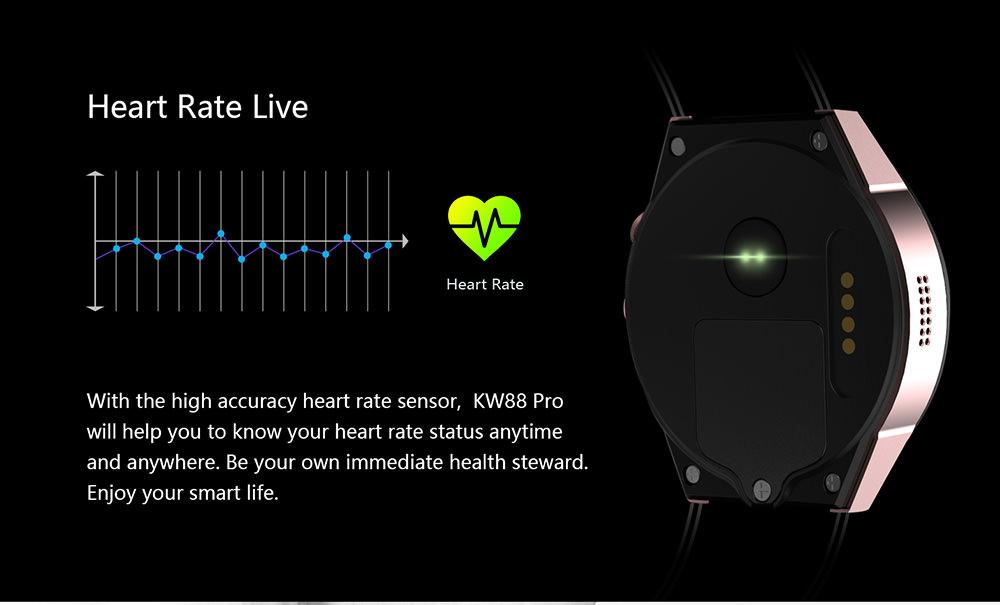 kingwear kw88 pro smartwatch price