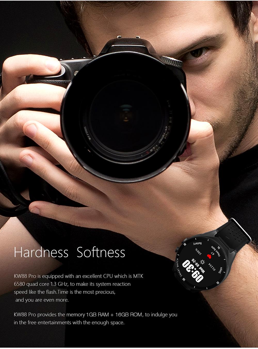 kingwear kw88 pro smartwatch phone