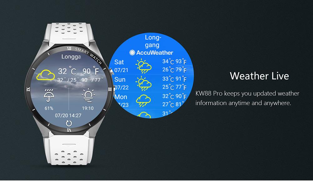 new kingwear smartwatch