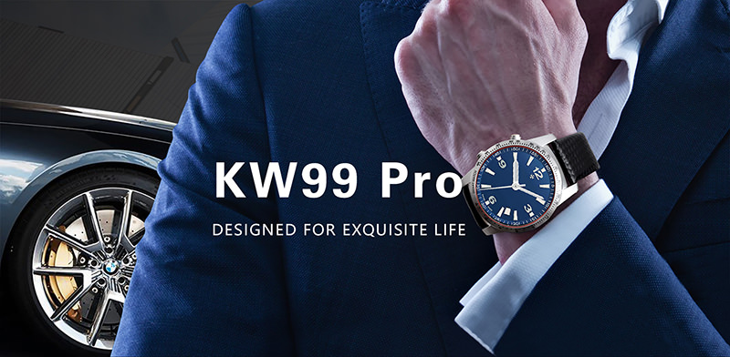 kingwear kw99 pro 3g smartwatch phone