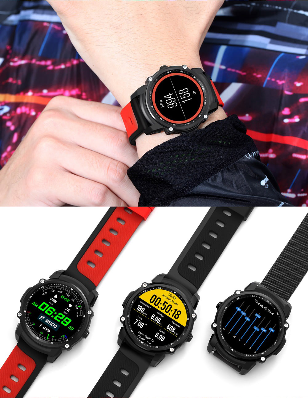 kingwear fs08 bluetooth smartwatch