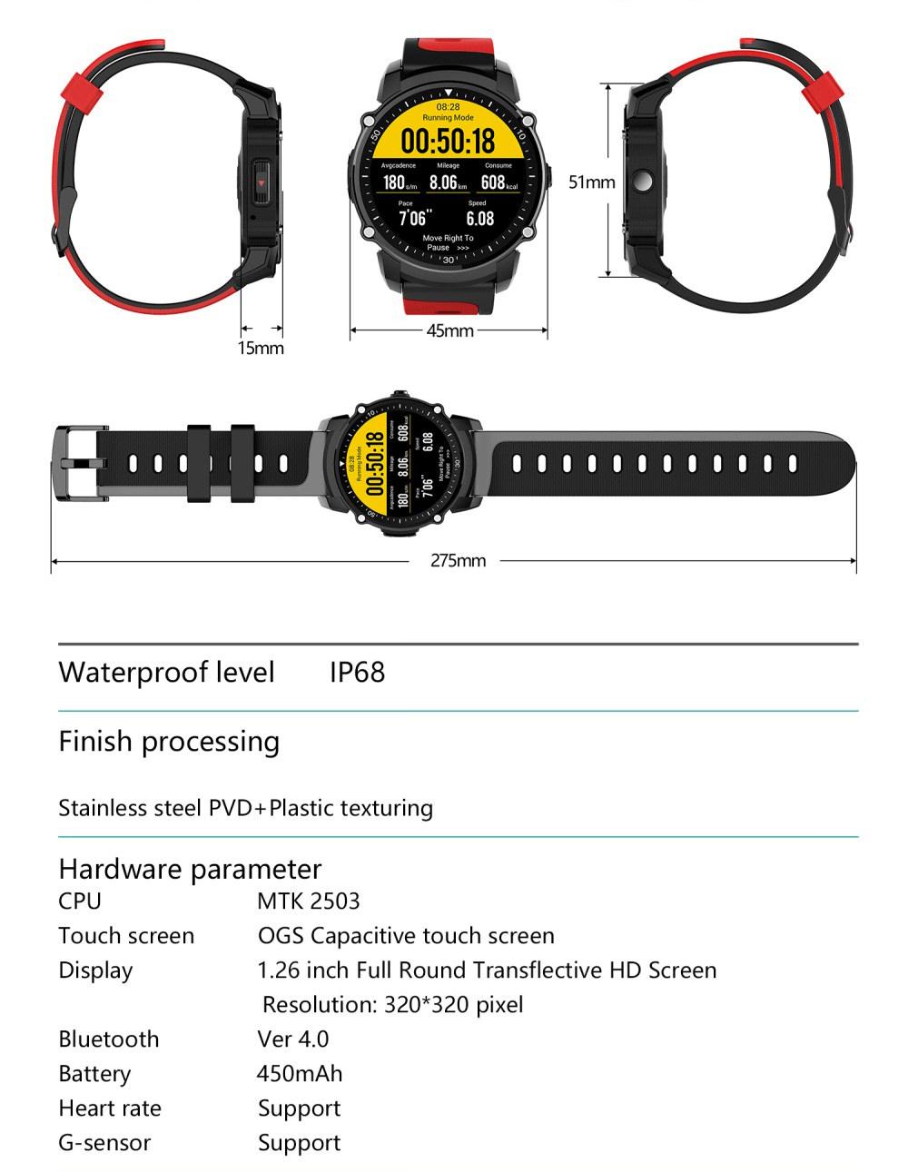 best kingwear smartwatch