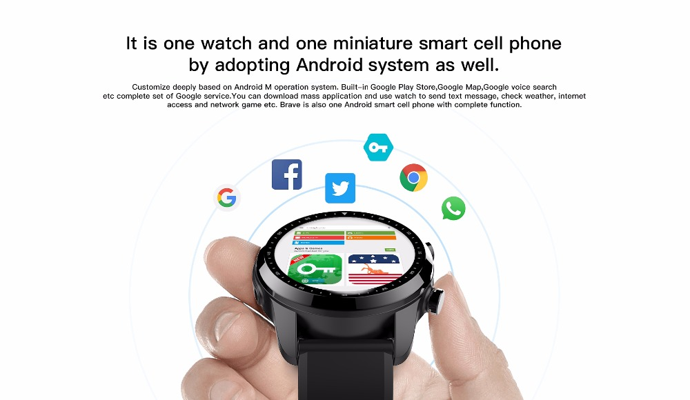 kospet brave smartwatch phone