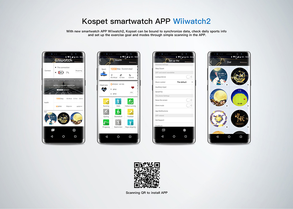 2019 kospet hope smartwatch