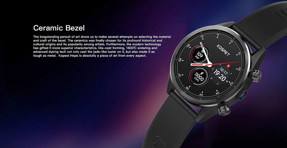 kospet hope 4g smartwatch phone