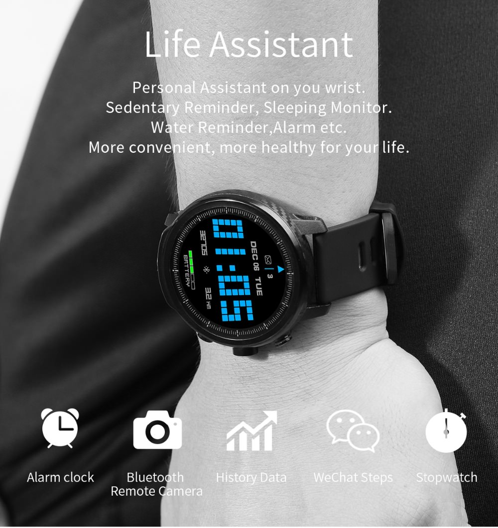 lemfo l5 waterproof watch