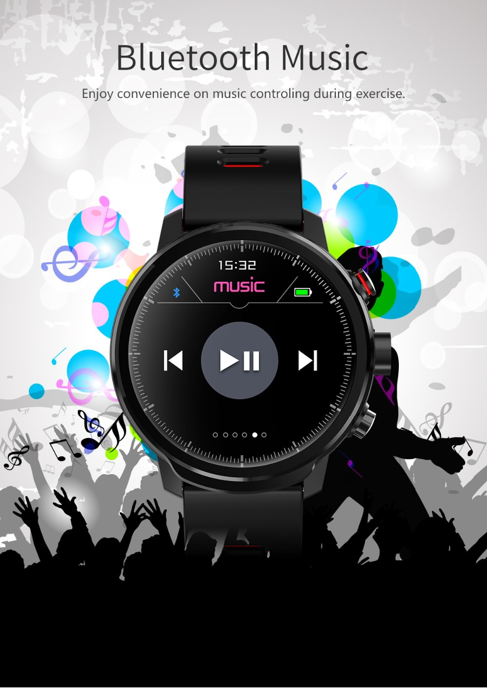 lemfo l5 waterproof smartwatch
