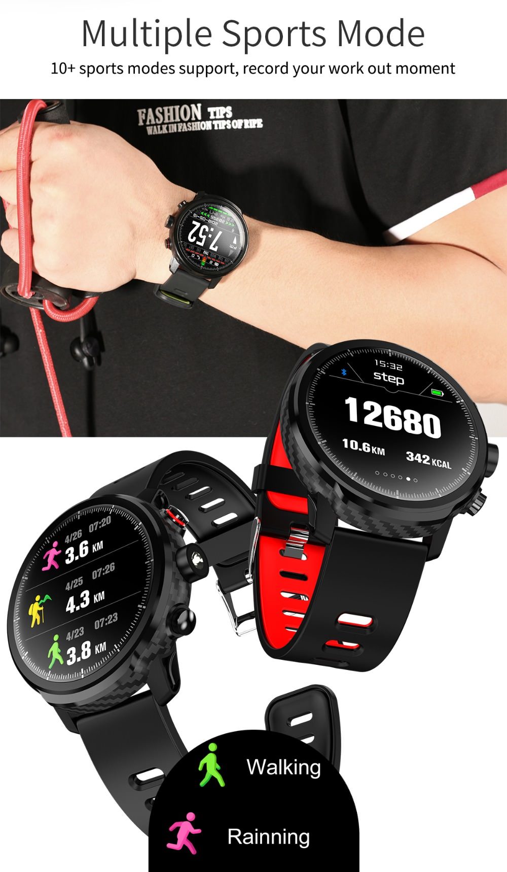 lemfo l5 anti-lost watch