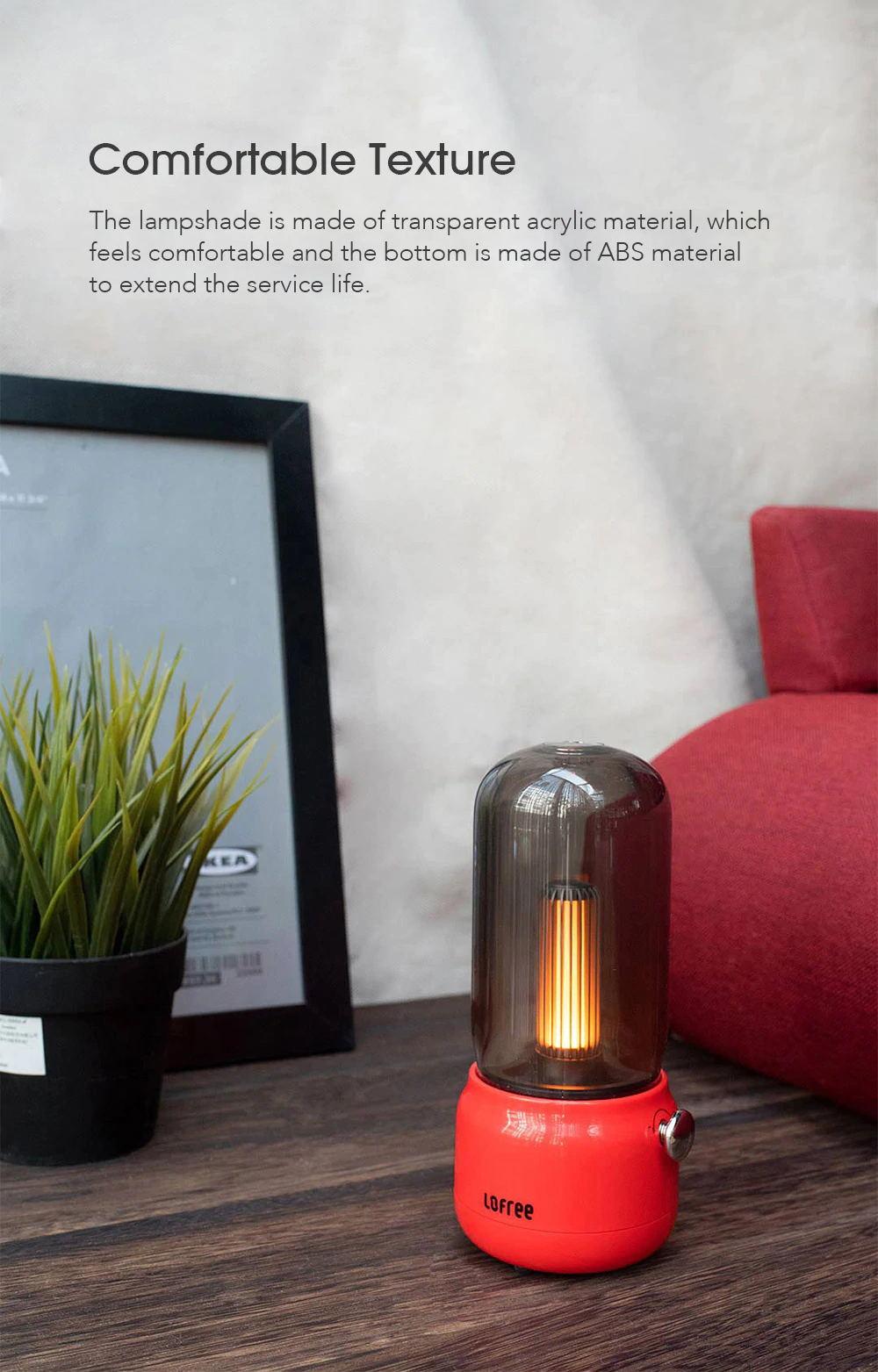 lofree candly lamp